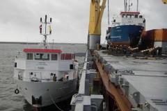 Delivery MV Ivona & MV Natalia Latvia -Croatia