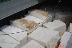 Stone blocks Cargo fixed