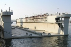 floating dock towage Romania-Lybia